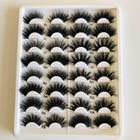 High Quality 25mm Mink Eyelash False Eyelashes Private Label 3d 4D 6D 5D Mink Eyelashes