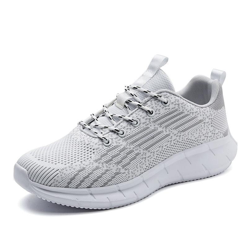 Minika 2020 новый тренд легкие мужские туфли на плоской подошве дышащие сетчатые кроссовки для бега мужские модные кроссовки повседневная обувь