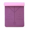 Deep purple + light pink