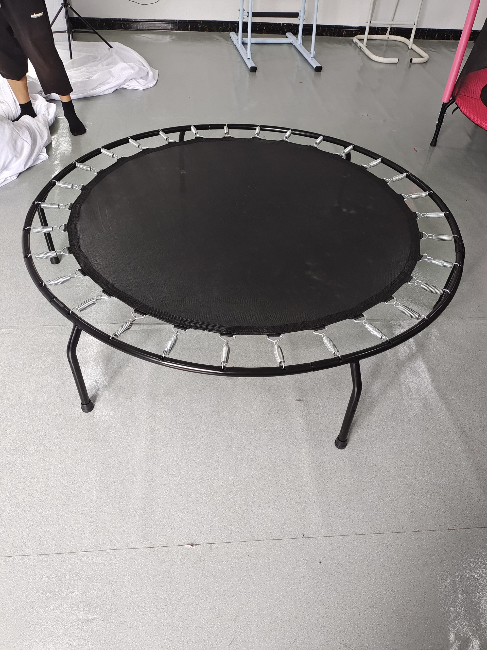 60 inch Indoor Outdoor  Mini Child Trampoline With Enclosure  For Kids