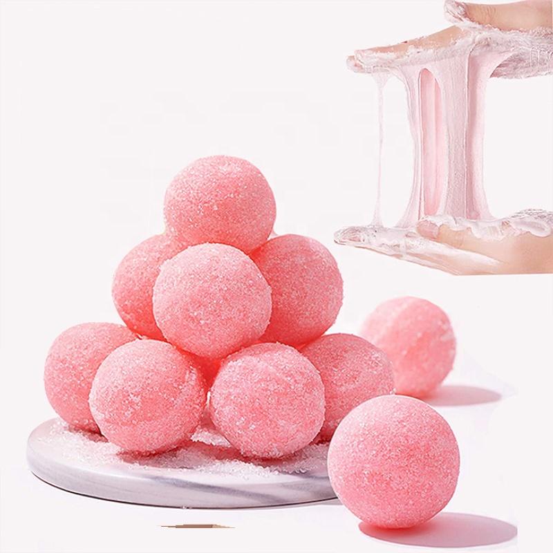 Funny Bath Private Label Custom Clean Mini Round Square Exfoliating Body Sugar Scrub
