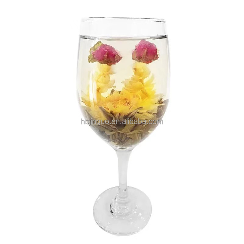 Wholesale Ornamental Romantic Detox Dried Herbal Health blossom Blooming Flower Tea Ball Vacuum Package Brighten Woman`s Skin - 4uTea   4uTea.com