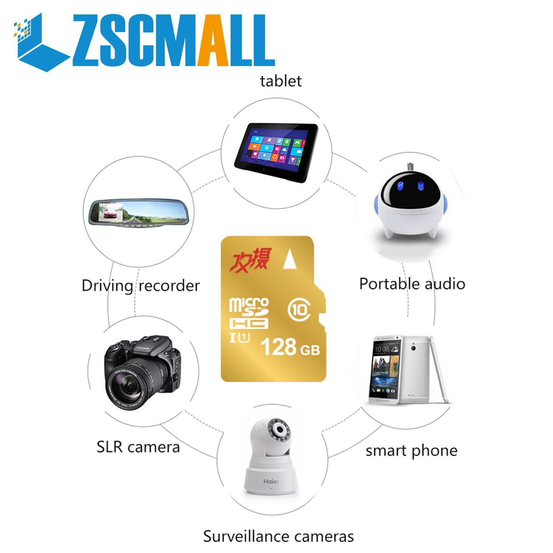 ZSCMALLS Cheap Custom Logo Wholesale 16GB 32GB 64GB 128GB SD Micro TF/SD Memory Card For Camera Car Music MP4 - USBSKY | USBSKY.NET