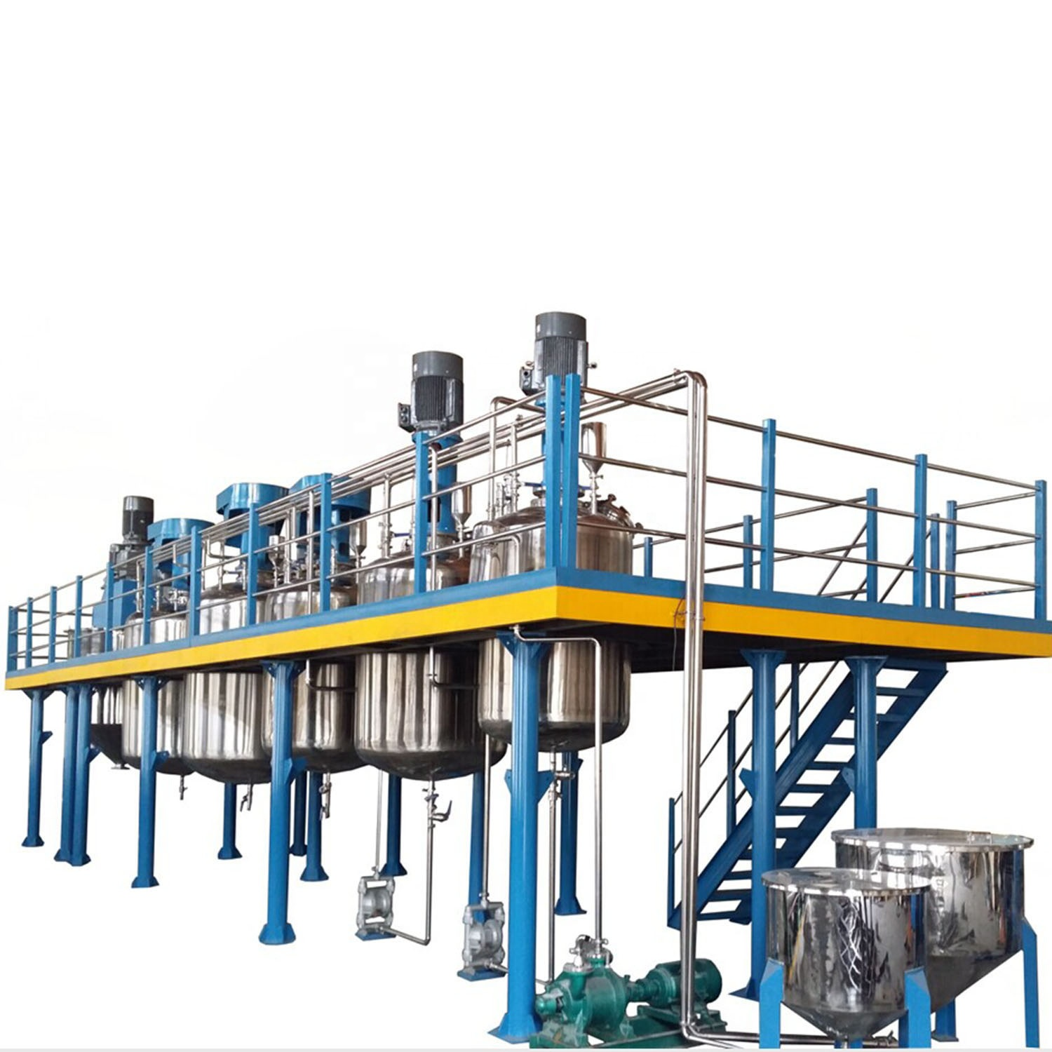 high productivity coating complete production line
