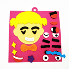 2019 latest fashion fabric children lovely family face changing education products