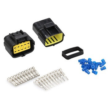 1 set Waterproof Wire Connector Plug 2/3/4/6/8/10 Pin Way Car Auto Sealed Electrical Car Truck Connector Set