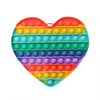 20CM hearts rainbow