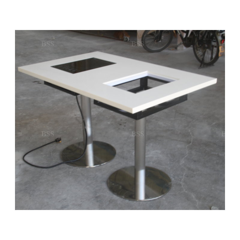 58 потрясающих культивированных мраморных обеденных столов, стильные столы для ресторанов с грилем, стол с горячим горшком