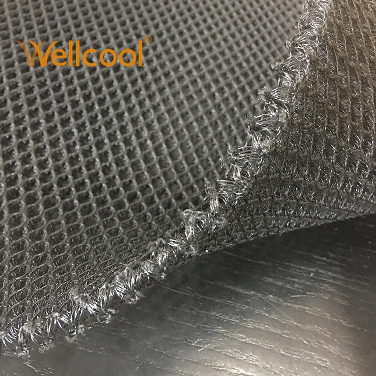 Big hexagon reduce pressure 8mm air mesh 3D spacer mesh fabric for car seat cover