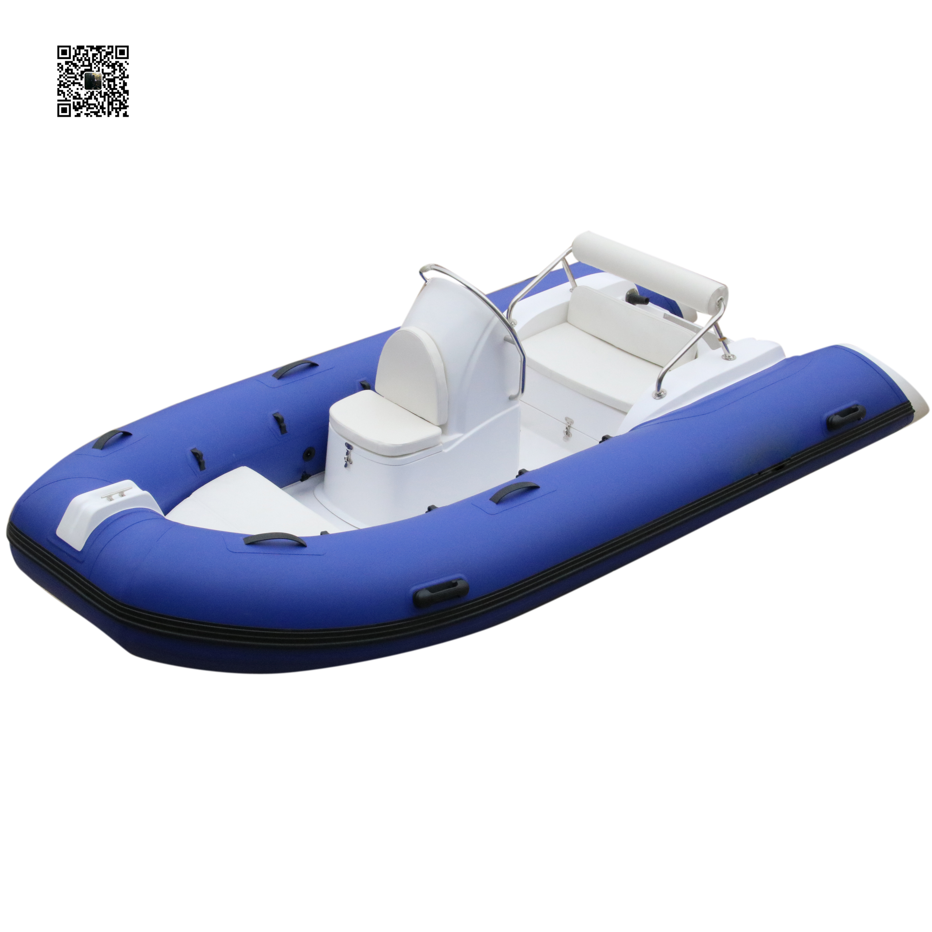 RIB390 Rib Sport Boat China High Quality For 5 People Hypalon Inflatable Boat In Rowing Boats