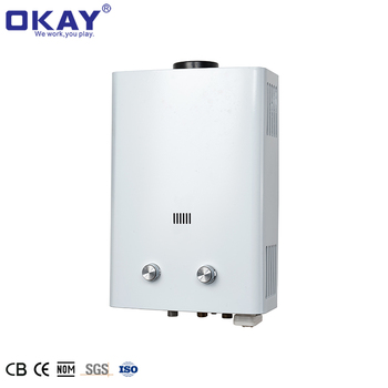 Hot Water Heater 12L Tankless Propane Water heater Stainless Steel Liquefied Petroleum Gas Water Heater