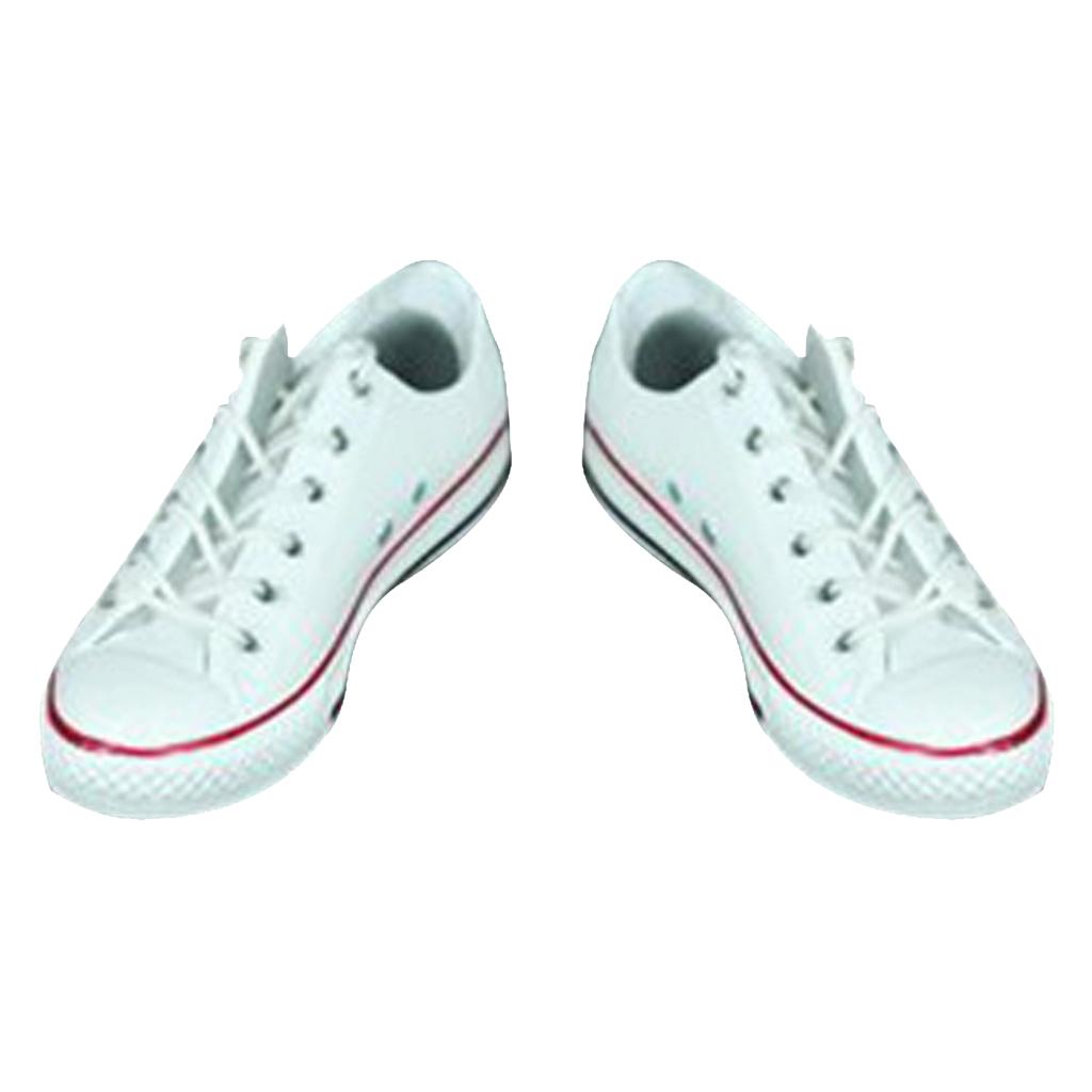1//6 Men/'s Lace-up Canvas Shoes Sport Sneakers for 12/'/' Action Figures Clothes