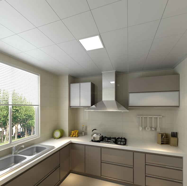 Hot sale modern embedded square ceiling kitchen bathroom office house led panel light