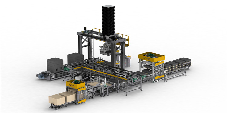 Guaranteed Quality LXMD Independent Cuber System Building Material Machinery