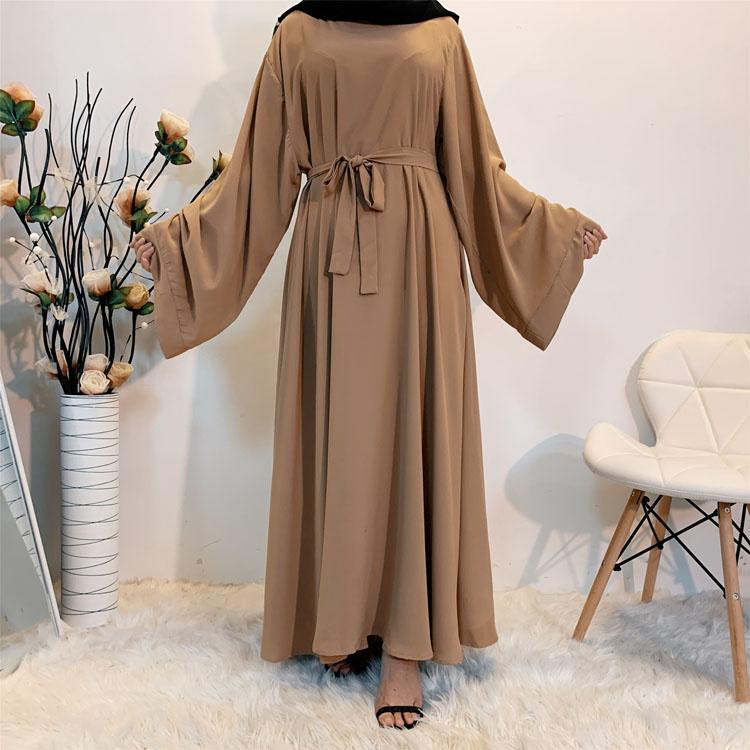 2021 new Islamic Dubai Muslim Women Abaya ramadan Full Cover Ramadan Thobe Gown One Piece Prayer Outfit Prayer Dress