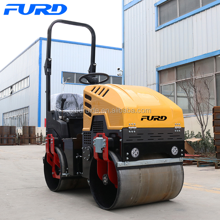 1 Ton Hydraulic Road Roller Asphalt Roller for Sale (FYL-880)