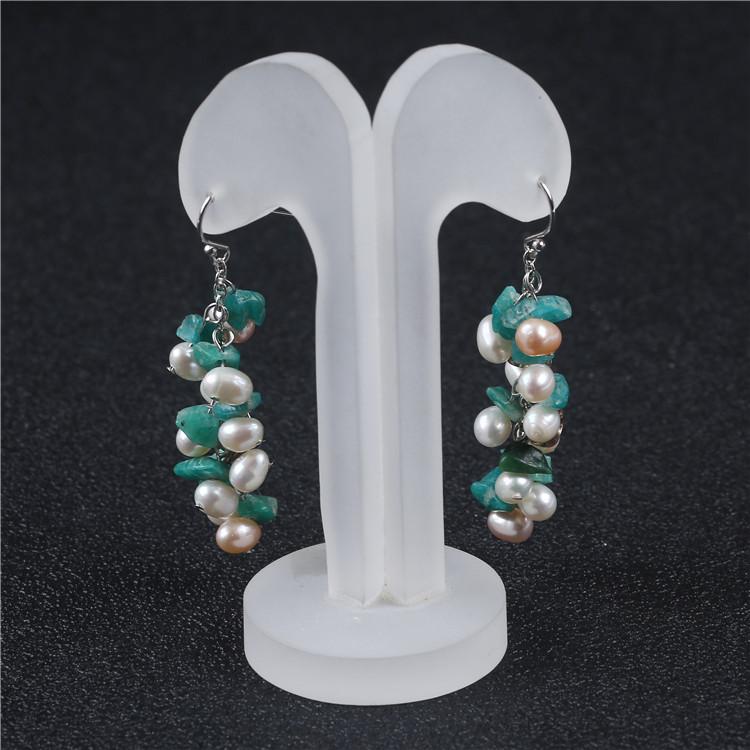 Ювелирные изделия из стерлингового серебра 925 пробы, модное ожерелье из натурального пресноводного жемчуга