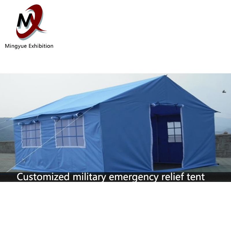outdoor camping tent waterproof disaster floodrelief canvas wall army desert camouflage military china tenheavy duty tents sale