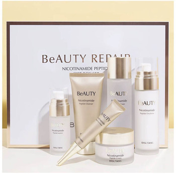 Custom LOGO Multi Peptide beauty skin care set natural organic private label whitening skin+care+set