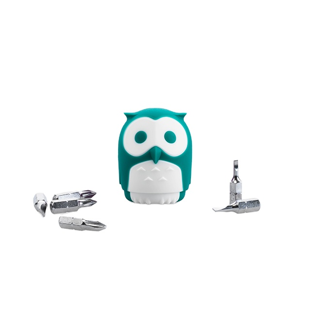 Convenient Flat Screwdriver Colorful Householdtools Owl Business