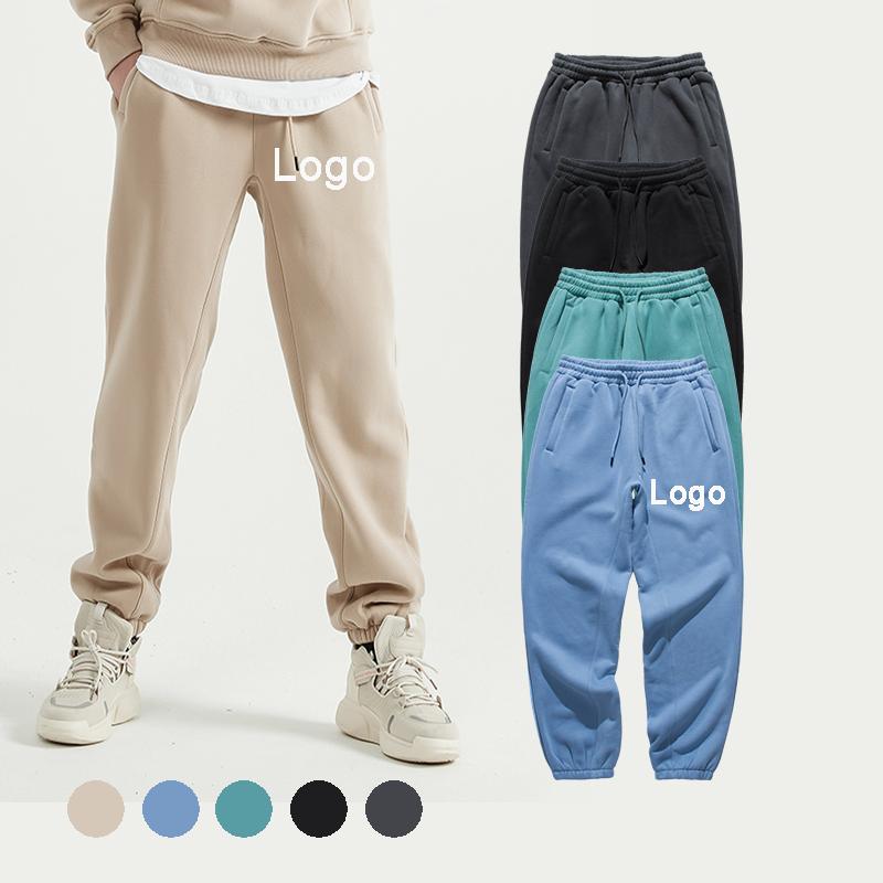 Manufactory Wholesale elastic men jogger sweatpants drawstring custom good price