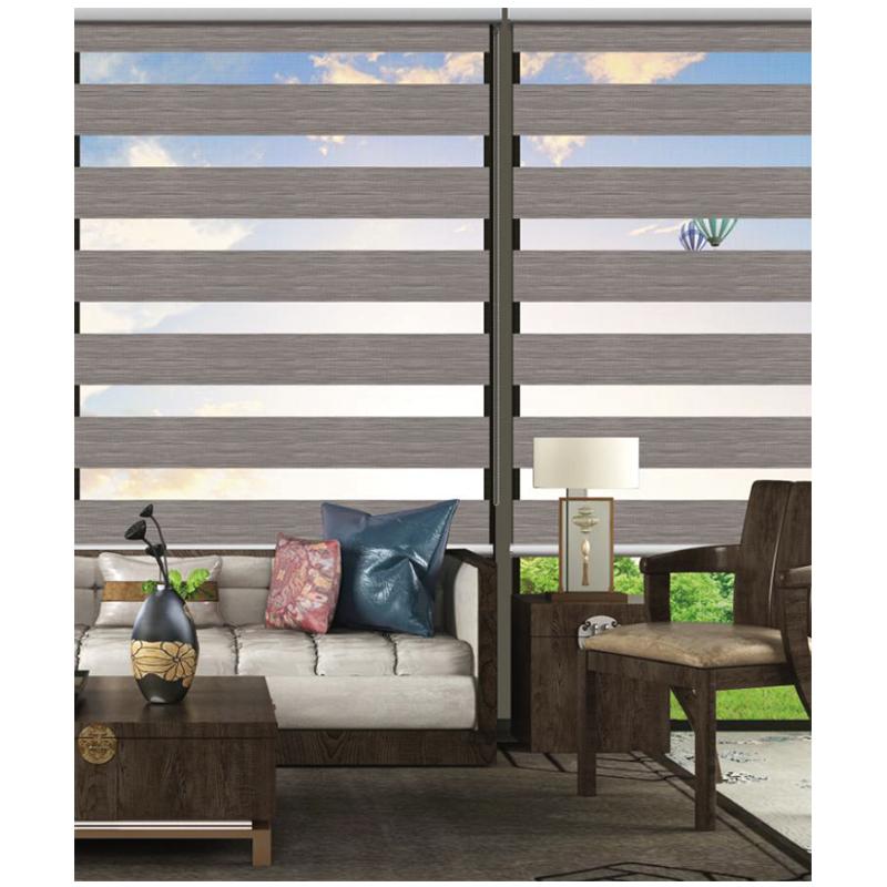 Домашний Декоративный Козырек для окон, полосатые шторы из полиэстера, светонепроницаемые жалюзи для окон, светонепроницаемая ткань для роликовых штор