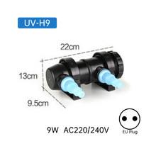 УФ-стерилизатор для аквариума 220 ~ 240 В 5 Вт ~ 36 Вт, УФ-стерилизатор, светильник, очиститель воды, для пруда, аквариума, Ультрафиолетовый фильтр, ...(Китай)