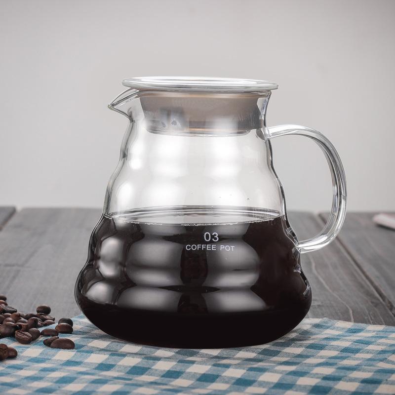 Термостойкая стеклянная кофейная капельница для горшочки Hario капельного чайника бутылка для воды бариста залить кофе кувшин креативный ка...(Китай)
