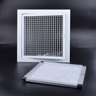 Aluminum Exhaust HVAC Aluminum Egg Crate Exhaust Air Grilles Egg Crate Grille