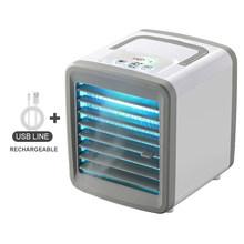 Мини-вентилятор для кондиционера 2020, кулер для домашнего кондиционера, увлажнитель, USB вентилятор для охлаждения воздуха для домашнего офис...(Китай)