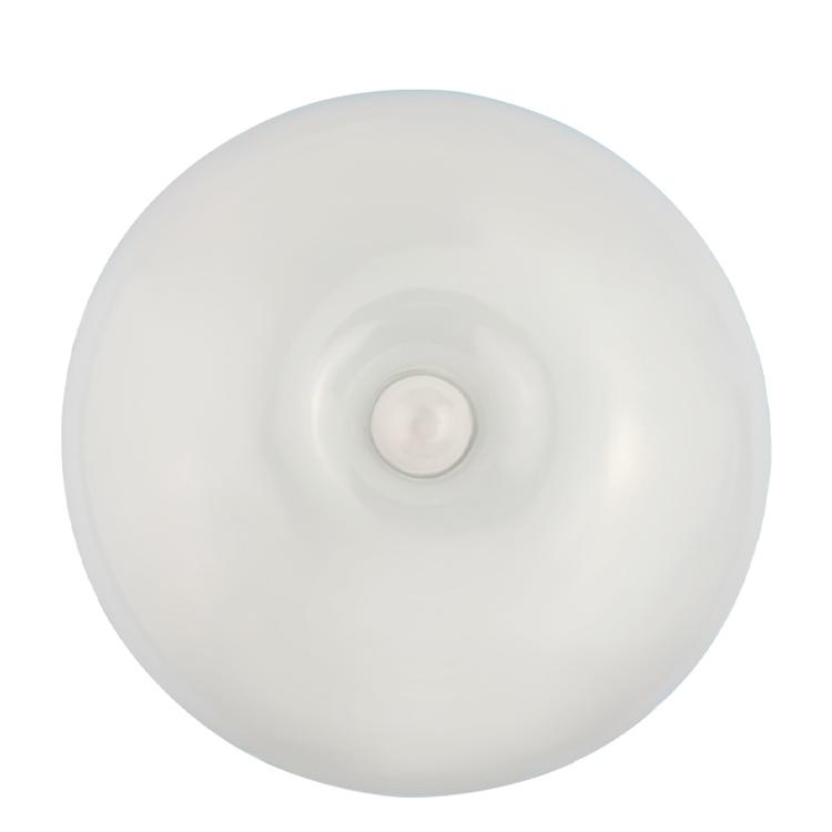 Ручной ночник высокого качества, маленький светильник круглой формы с датчиком движения, для лестницы, коридора, Настенный умный ночник с датчиком
