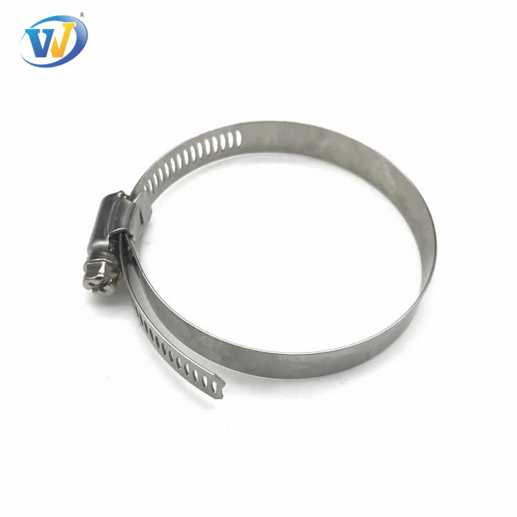 Wholesale German Type Flex Seal Spring Stainless Steel 201,304 Worm Drive Hose Clamp