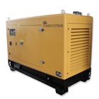 30 Kw Silent Custom Fuel Tank Diesel Engine Generator With Automatic Transfer On 30kw / 40 Kw