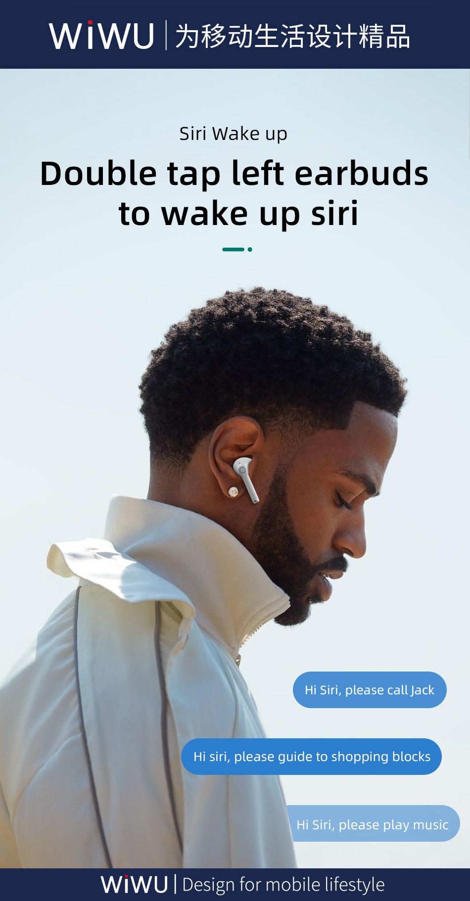 WiWU TWS06真无线双耳 蓝牙耳机 (https://www.wiwu.net.cn/) 耳机 第7张