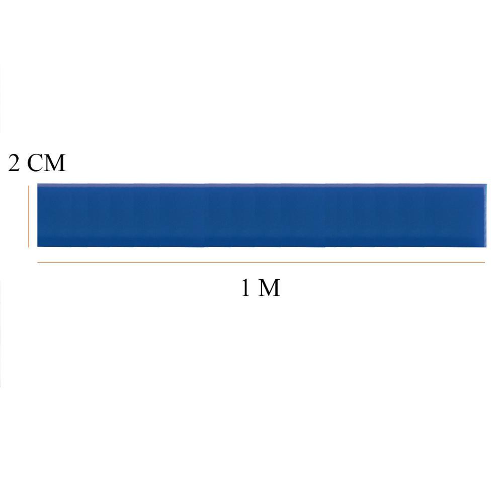 1 м/рулон, резиновый сменный Швабра для мытья окон, 2 см