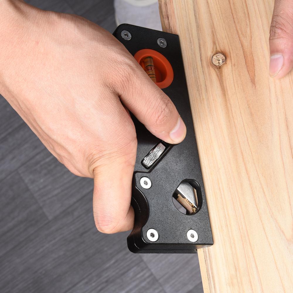 Aluminum alloy wood plane hand tool Trimming Polishing Mini Wood Plane