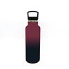 Wein rot + Schwarz (505C + 6C)-Pulver beschichtung