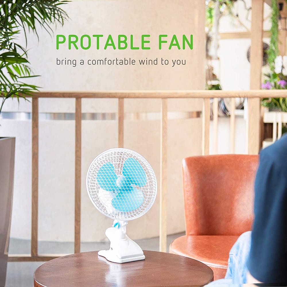 SINOWELL 6 дюймов Осциллирующий клип вентилятор для Крытый расти палатку