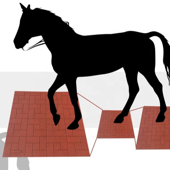 Shock-absorbing Rubber Horse Stable Mats Cow Mats