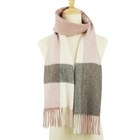 Hijab Winter Scarf Cashmere Women Tassel Hijab Scarf Checked Men's Scarf Stocklot