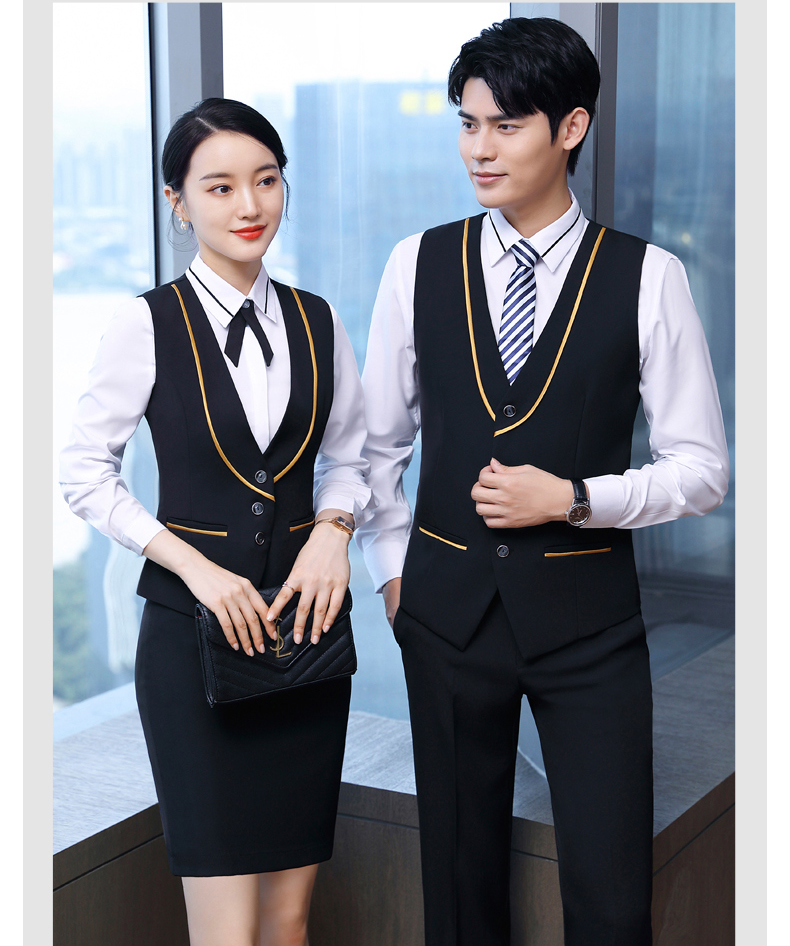 Fashion front office reception manager hotel staff uniform