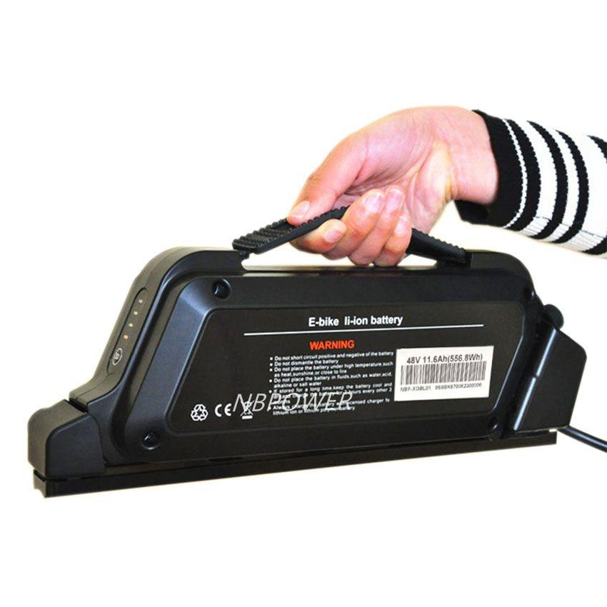 Новый дизайн, литий-ионный аккумулятор для электровелосипеда с длительным сроком службы 48 В 11,6 Ач BL