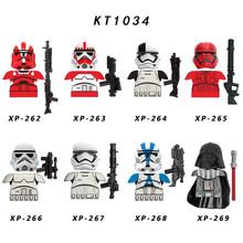 8 шт./лот, набор Звездных войн, мандалорский боевой рисунок, броня, Boba Jango, Vizsla, Darksaber, Вейдер, строительные блоки, кирпичная игрушка для детей(Китай)