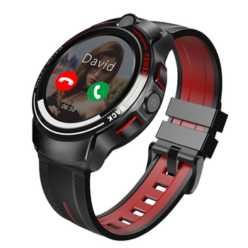 2020 5 Million Pxels HD Dual Camera Sport GPS Smartwatch , Android Video Call Watch Phone 4G Halth Smart Watch With Play