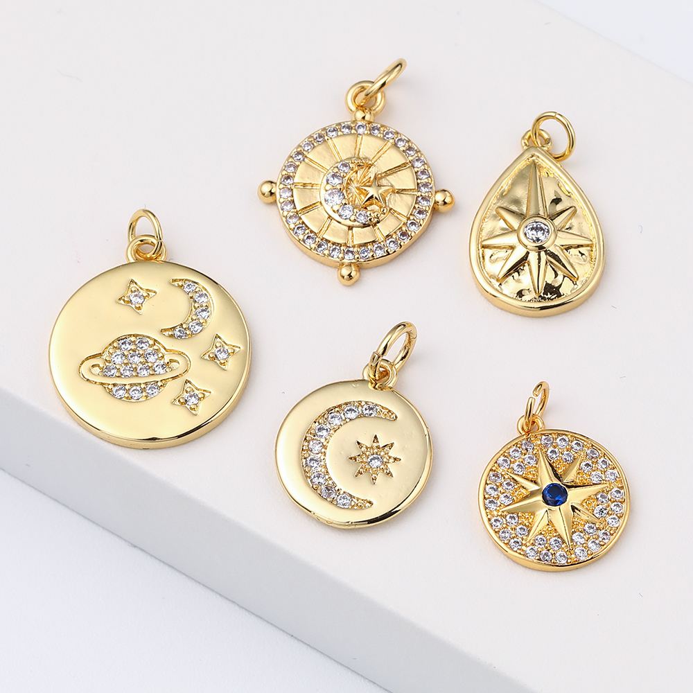 High Quality  Sun And Moon Jewelry Jewelry Charms Options For Jewelry Making