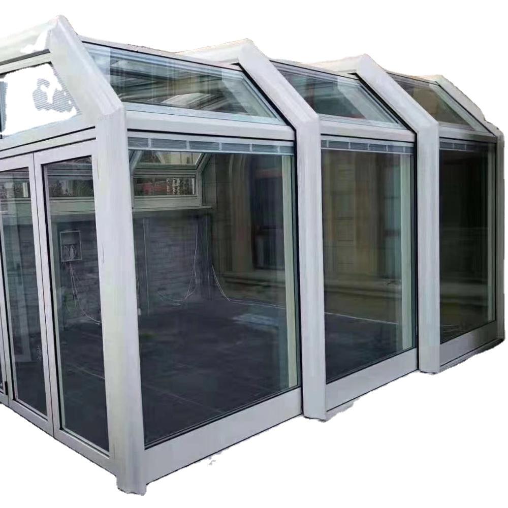 Shade House Transparent Aluminum Alloy Toughened Glass Room Terrace European Automatic Sun Room