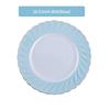 10.5 inch dish(blue)