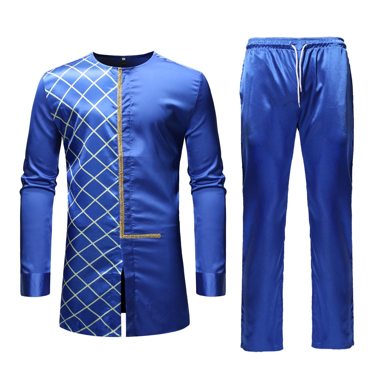 MXCHAN SJH11008 африканская Мужская модная одежда с вышивкой