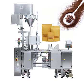 CE Approved Paper Bag Automatic Mini Doypack Coffee Used Powder Packing Machine
