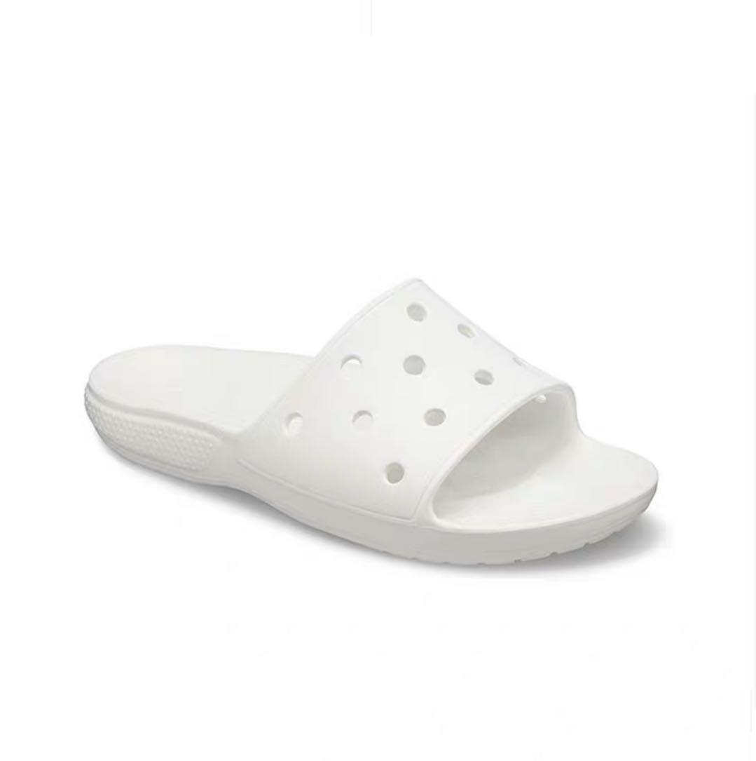Мужские и женские цветные повседневные сабо, пляжные сандалии, тапочки, сабо, Кроксы, обувь EVA